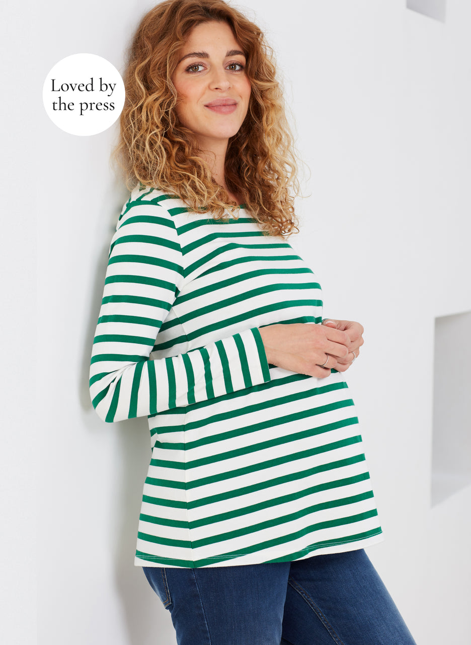 Ione Organic Maternity Top