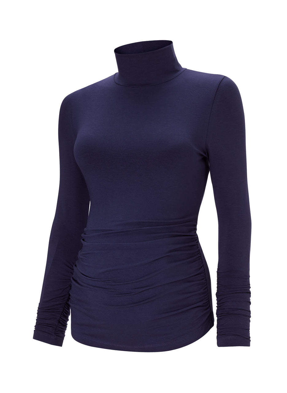 The Maternity Turtleneck