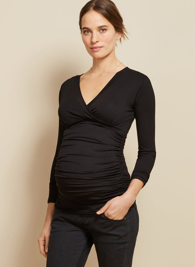 Poppy Maternity Top