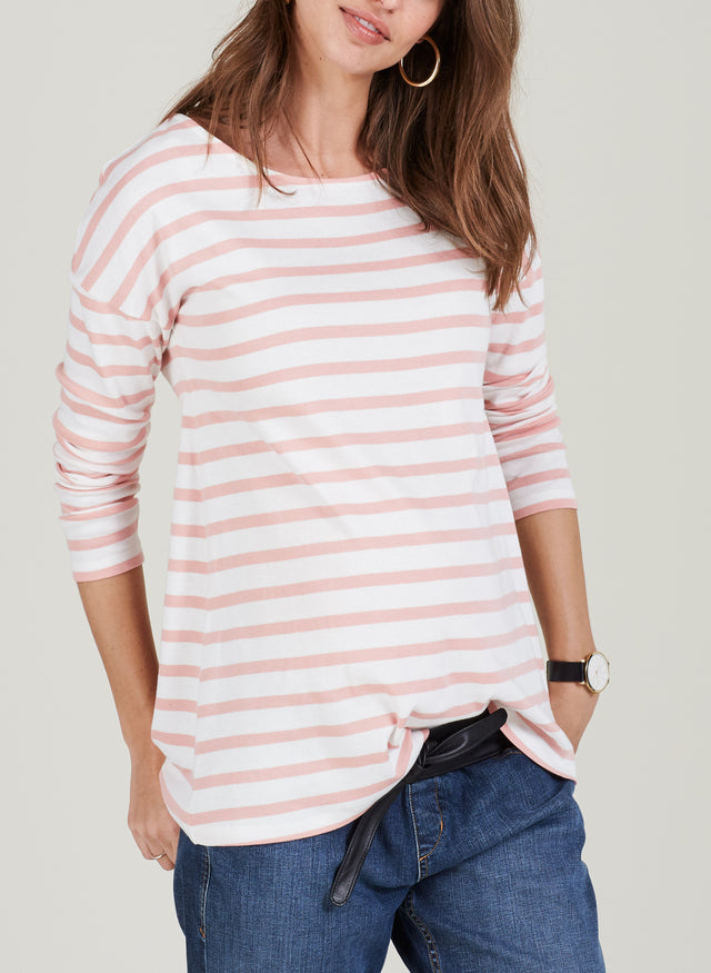 Caia Maternity Stripe Top