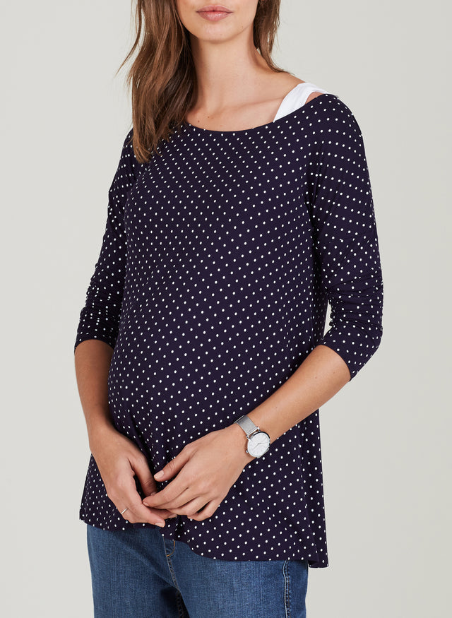 Jennifer Maternity Relaxed Top