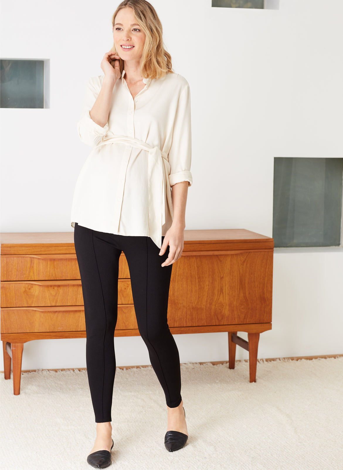 dae748db7ebb90 Over the Bump Maternity Treggings – Isabella Oliver US