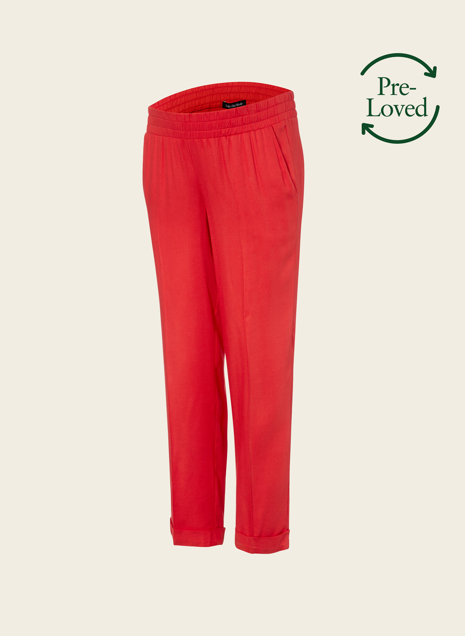 Pre-Loved Messina Relaxed Maternity Trousers by Isabella Oliver
