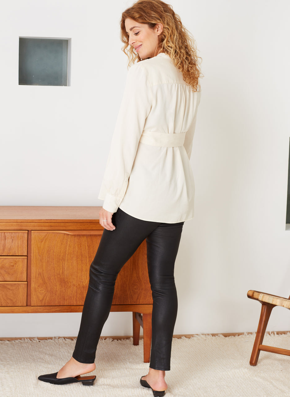 Rowsley Maternity Leather Leggings