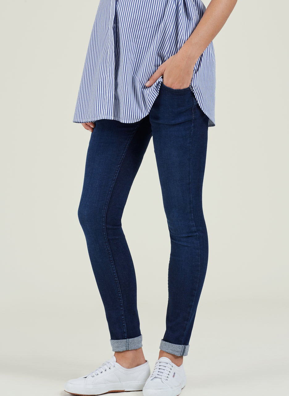 Super Stretch Maternity Skinny Jeans