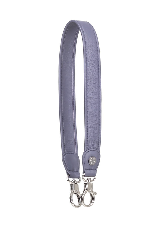 Lambskin Leather Strap (Grey Lavender)