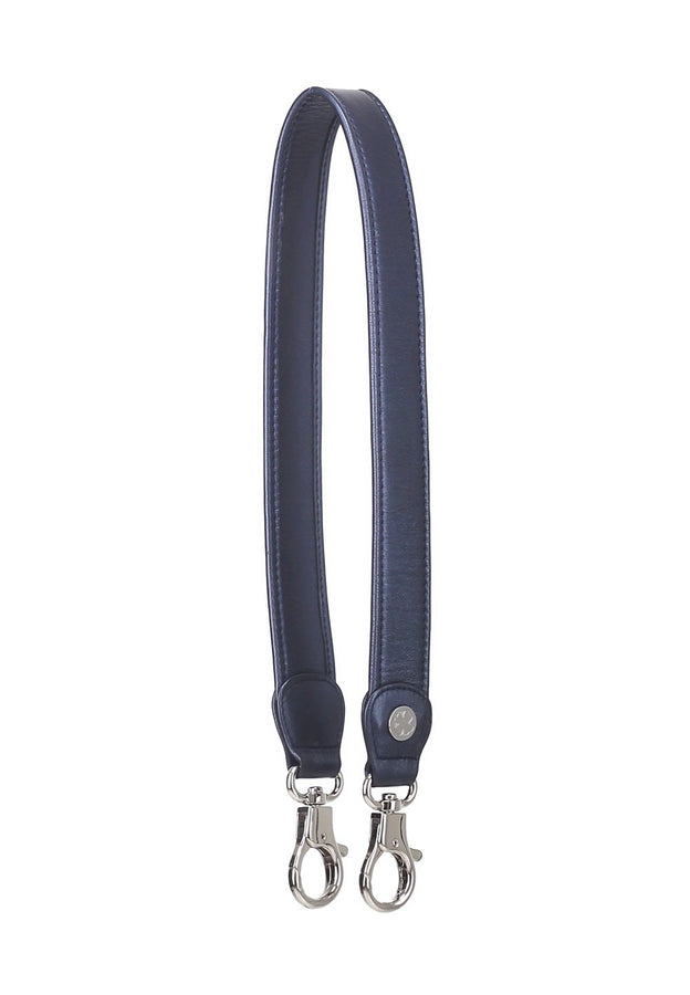 Lambskin Leather Strap (Navy Metallic)