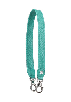 Python Skin Leather Strap (Mint Green)