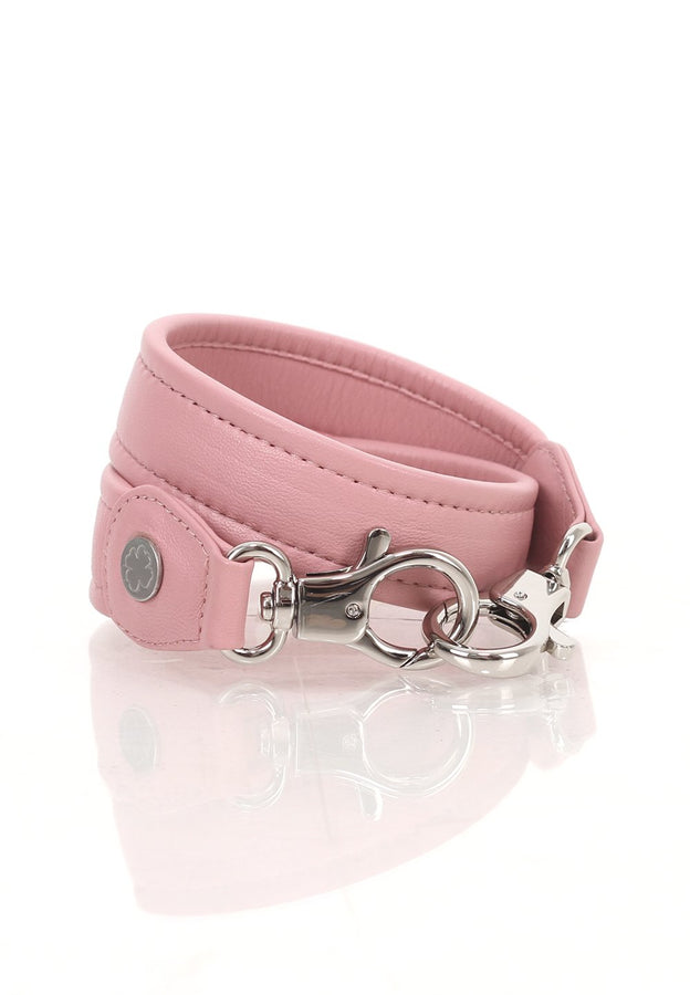 Lambskin Leather Strap (Baby Pink)