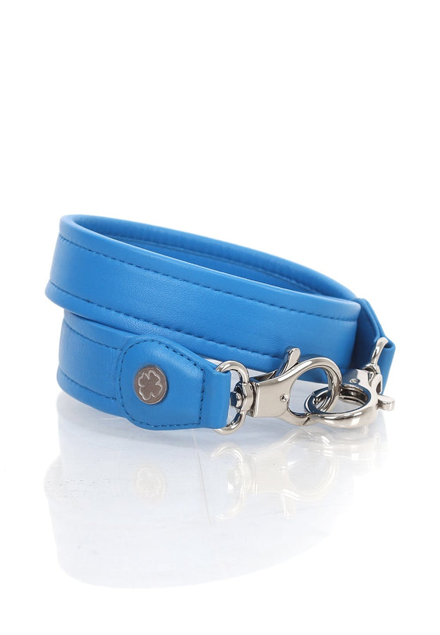 Lambskin Leather Strap (Blue Azure)