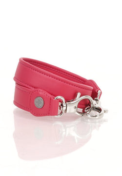 Lambskin Leather Strap (Fuschia)