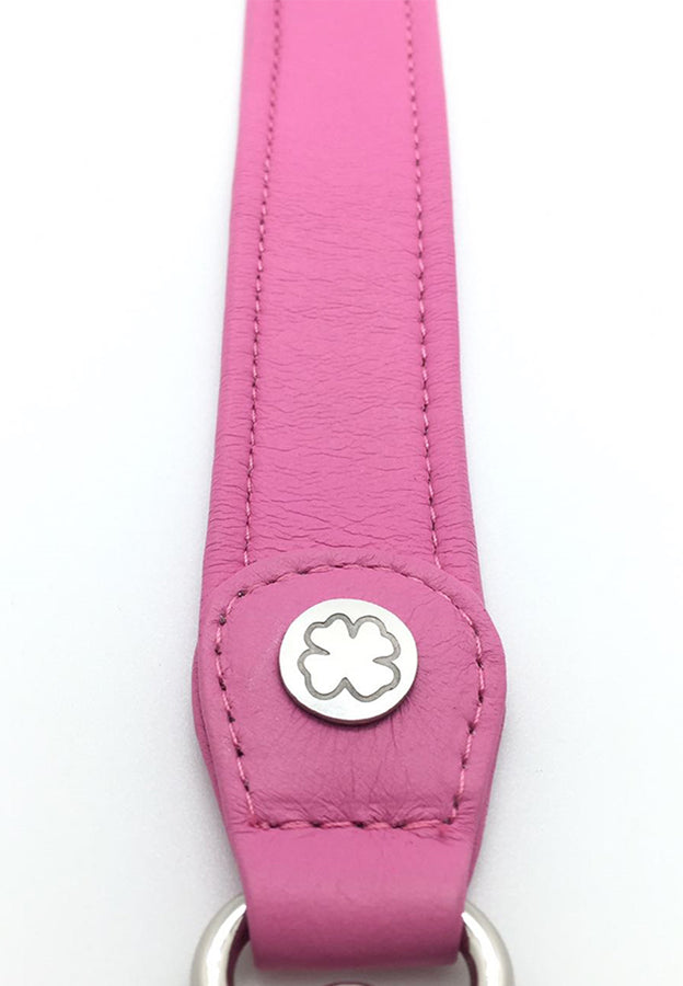 Lambskin Leather Strap (Hot Pink)