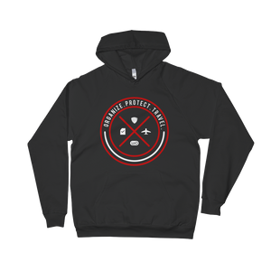 Circle Quad Icon Hoodie-Theloocompanyshop