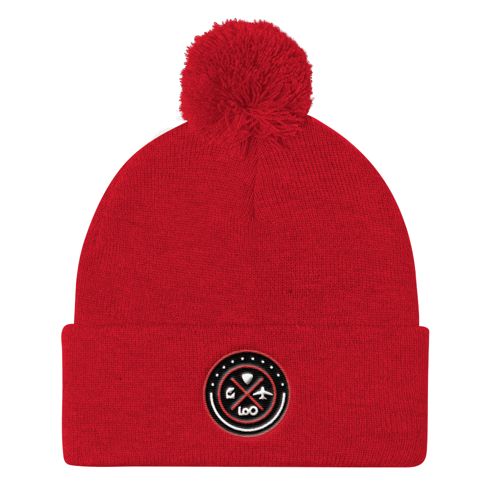 Circle Quad Ball Beanie-Theloocompanyshop