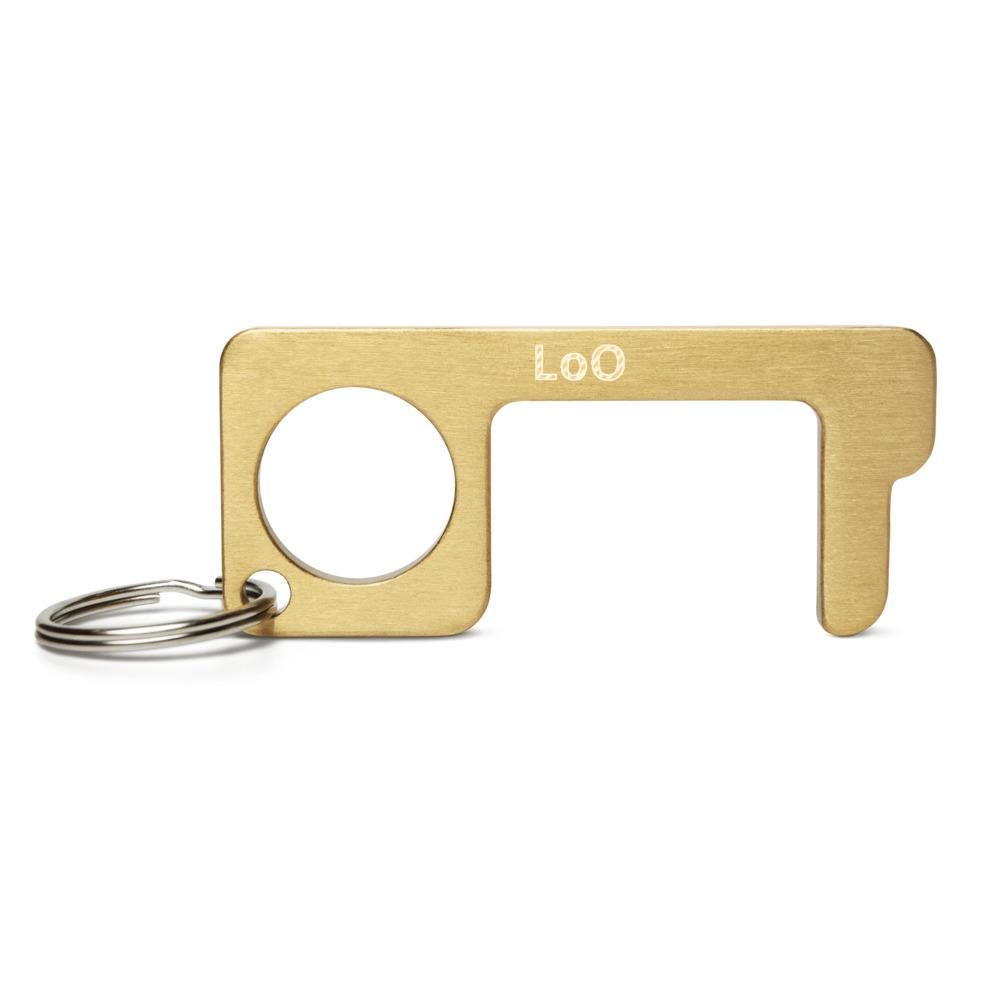 LoO Engraved Brass Touch Tool