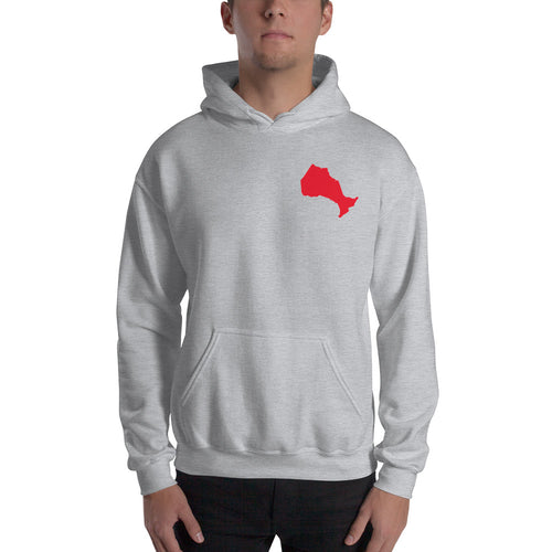Ontario Map Hooded Sweatshirt
