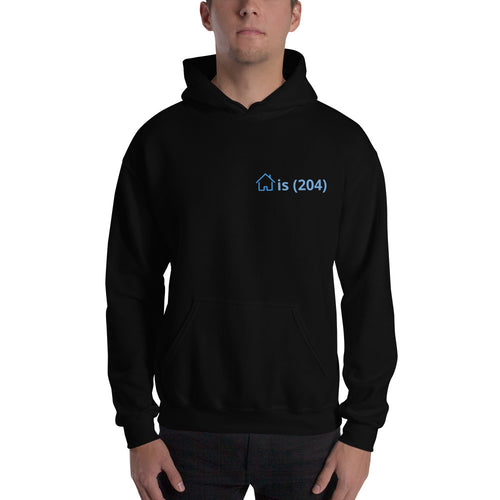 Home is (204) Hooded Sweatshirt