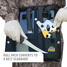 Load image into Gallery viewer, Outdoor Edge Butcher-Lite Lightweight 8-Piece Butcher Kit with Belt Scabbard