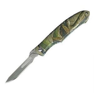 Havalon Piranta Predator Knife Camo