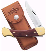 Schrade LB7 Uncle Henry Bear Paw Lockback Folding Knife 3.75