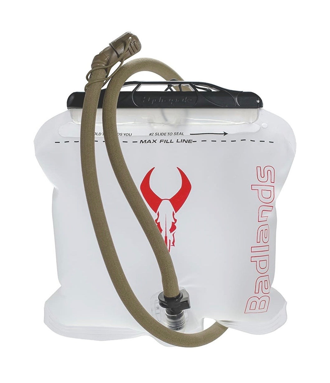 Badlands Hydration Reservoir with Isulated Drink Tube, 2L