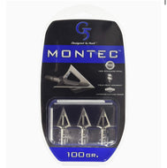 Montec fixed broadheads 100gr - 3 pack