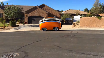 Ron Berry Custom VW Bus