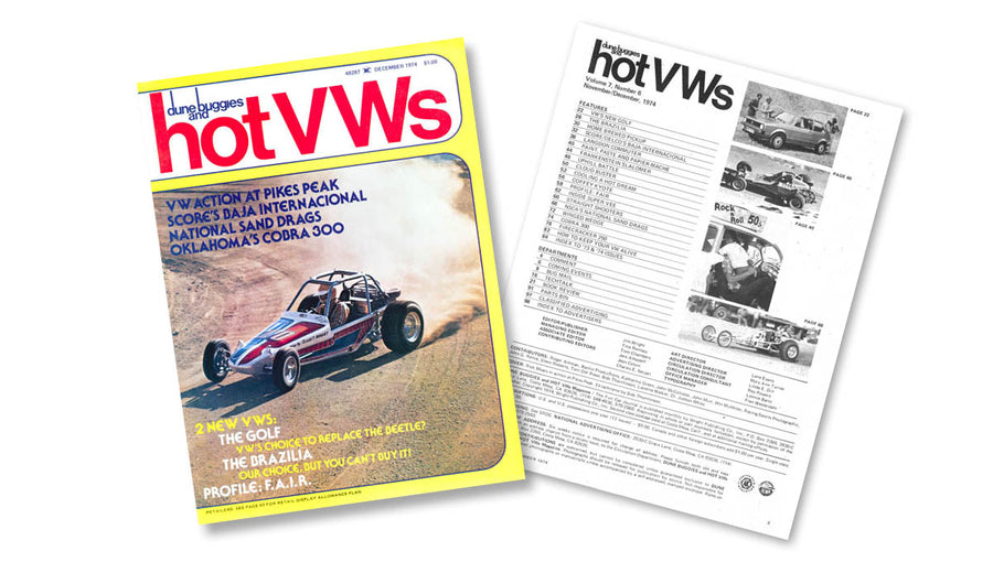 1974 - Hot VWs Magazine