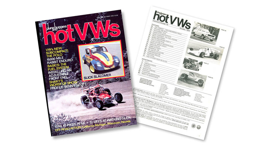 1975 - Hot VWs Magazine