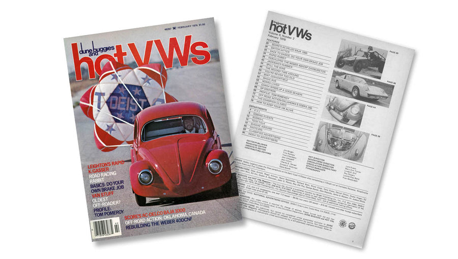 1976 - Hot VWs Magazine