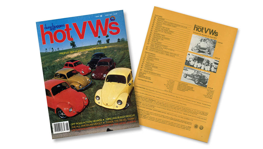 1977 - Hot VWs Magazine