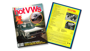 1978 - Hot VWs Magazine