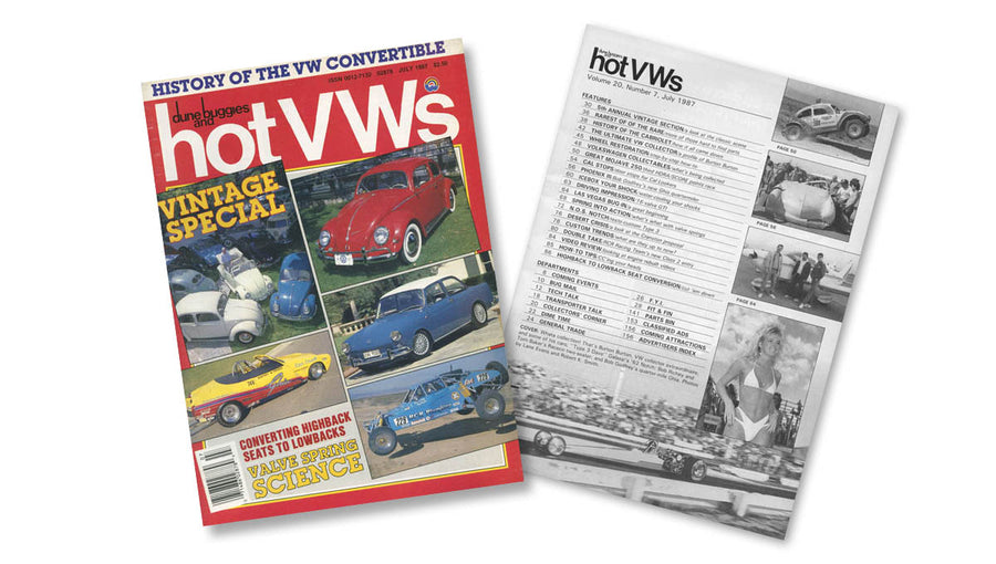 1987 - Hot VWs Magazine