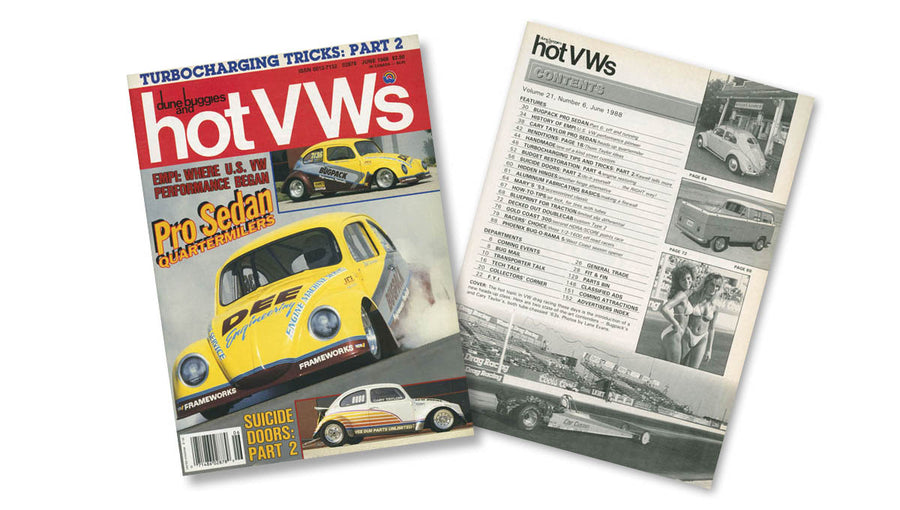 1988 - Hot VWs Magazine