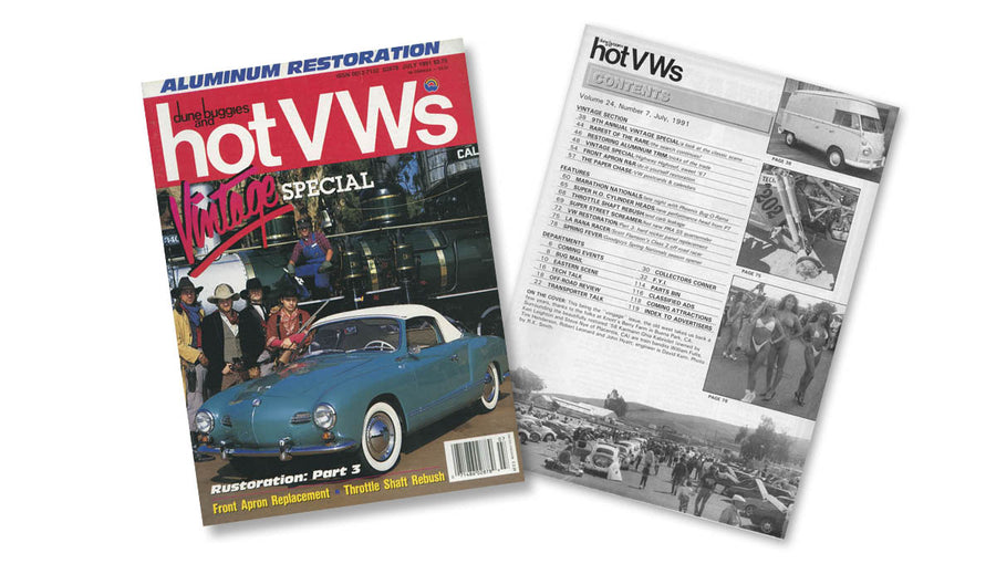 1991 - Hot VWs Magazine