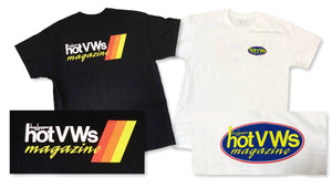 Official Hot VWs Logo T-Shirt