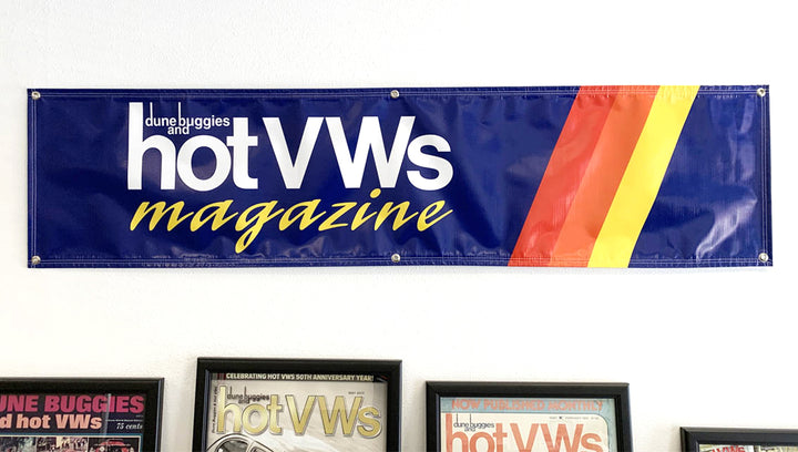 Official Hot VWs Magazine Banner