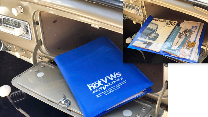 Hot VWs Car Registration and Insurance Holder