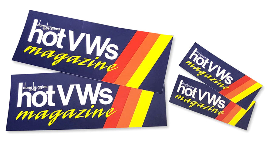 Hot VWs Stickers