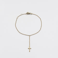 Bracelet & Chain and Cross