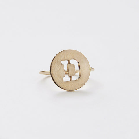 Ring & Coin and letter