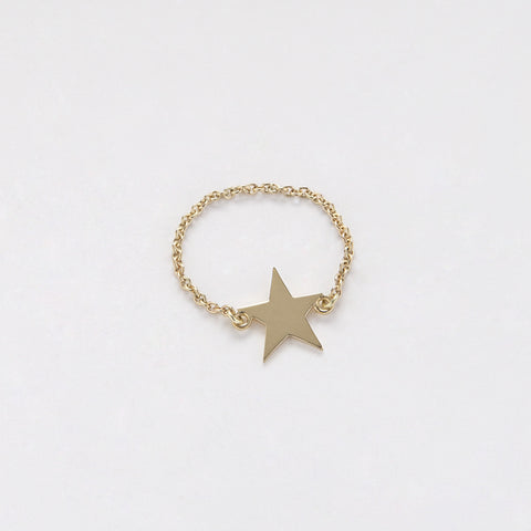Ring Chained & Star