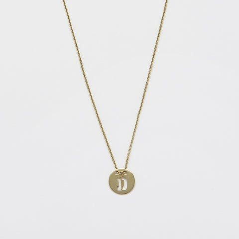 Necklace & Coin and Letter