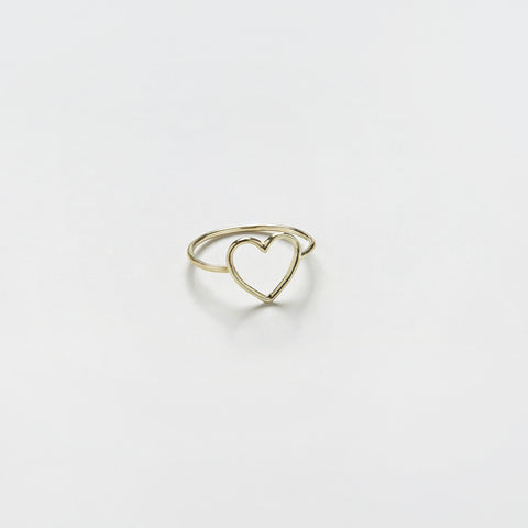 Ring & Open Heart