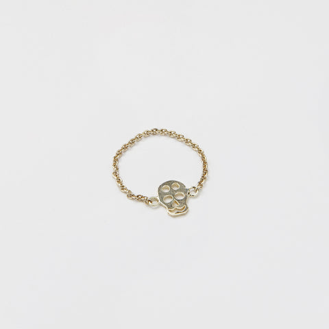 Ring Chained & Skull