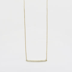 Necklace & Bar Brilliants Long