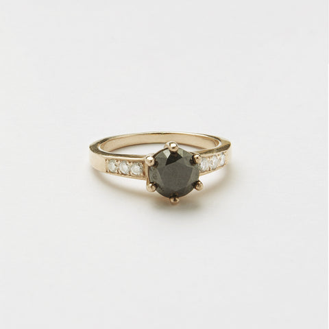 Ring & Black Diamond