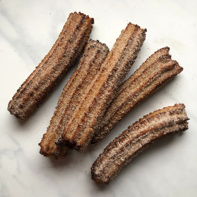 Keto Churros by @baconbutterbourbon