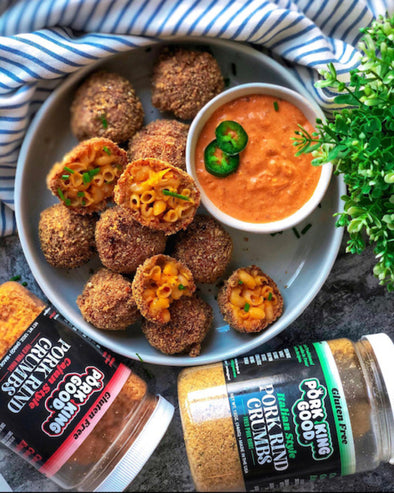 Cajun Mac and Cheese Balls ( @butter_me_keto )