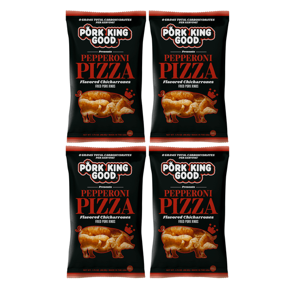 Pork King Good Pizza Flavored Pork Rinds - Pork King Good